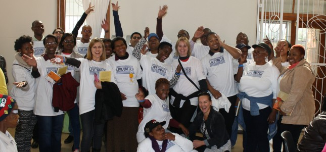 United Way South Africa Celebrated Mandela Day by focusing on education.